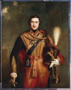 Prince Albert Colonel 11th Hussars
