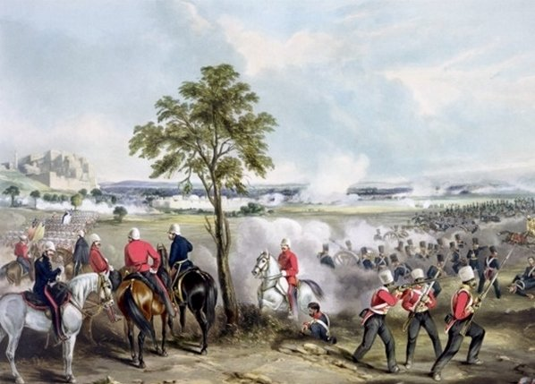 Second Sikh War Goojerat (Henry Martens)