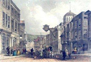 Winchester High Street 1850s