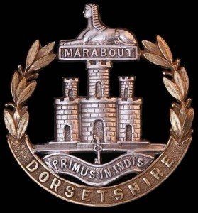 39th Dorsetshire Cap Badge