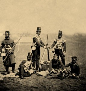 3rd Regiment Soldiers at Crimean War