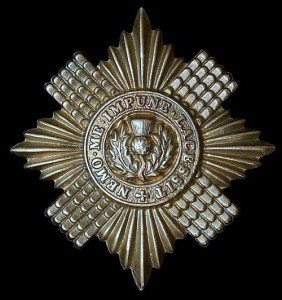 Anderson Scots Fusilier Guards Badge