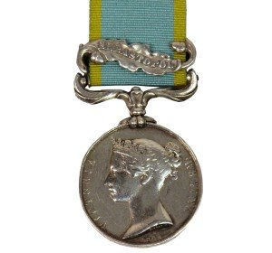 British Crimea Medal with Sevastopol Clasp