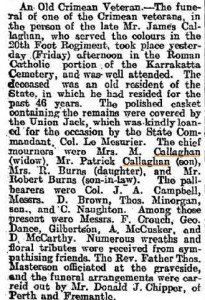 Callahan James (West Australian 20 Jun 1908)