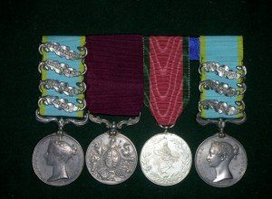 Carty & O'Hanlon Crimea War Medals
