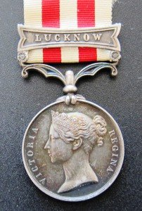 Indian Mutiny Medal Lucknow