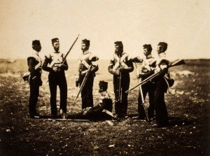 Soldiers of the 68th Regiment [Roger Fenton]