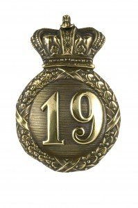 19th Regiment Cap Badge