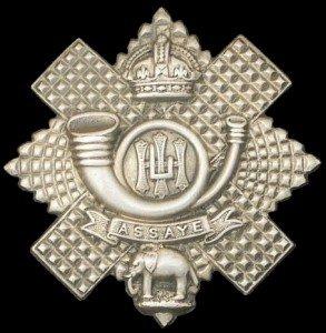 71st Light Infantry Cap Badge