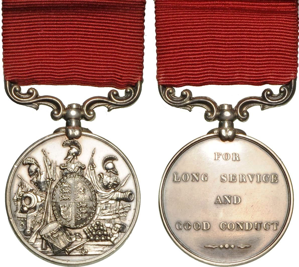 Army Long Service & Good Conduct Medal (1855-1874 type)