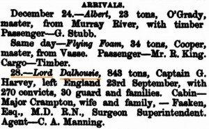 Lord Dalhousie Perth Gazette