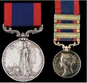 Sutlej Medal & Clasps
