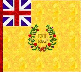 57th Regiment Colours