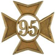 95th Regiment Badge