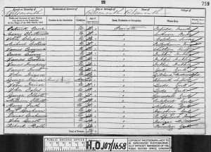 Graham 1851 Census