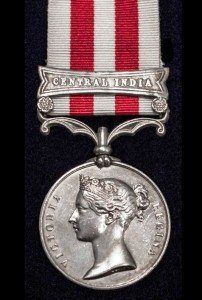 Indian Mutiny Medal (Central India Clasp)
