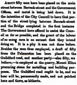 Palmerston Public Works [Inquirer 27 Feb 1861]