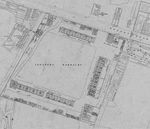Salford Barracks Plan