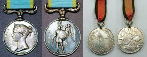 British & Turkish Crimea War Medals