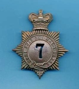 7th Regiment Cap Badge