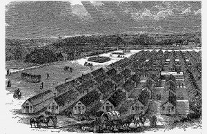 Camp Colchester 1856