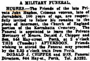 Hughes Military Funeral
