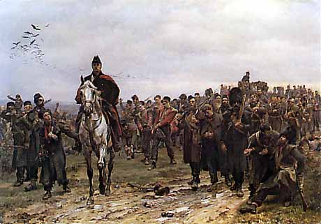 Return from the Battle of Inkermann