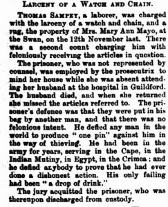 Sampey in Court [West Aus 1 Apr  1887]