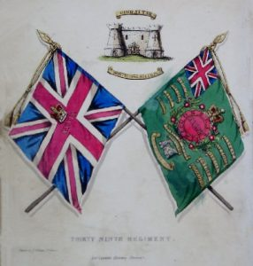 39th Regiment Colours