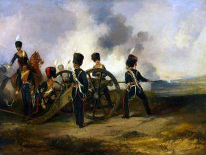 Martens, Henry; A Royal Horse Artillery Gun Crew Loading; National Army Museum; https://www.artuk.org/artworks/a-royal-horse-artillery-gun-crew-loading-182784