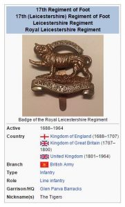 17th Regiment Wikipedia