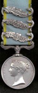 Crimea Medal (Balaklava-Inkermann-Sebastopol Clasps)