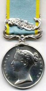 Crimea Medal (Inkermann Clasp)