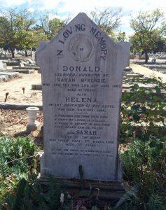 donald-helena-sarah-mckenzie-gravestone-hilton-cemetery