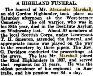 Marshall Funeral